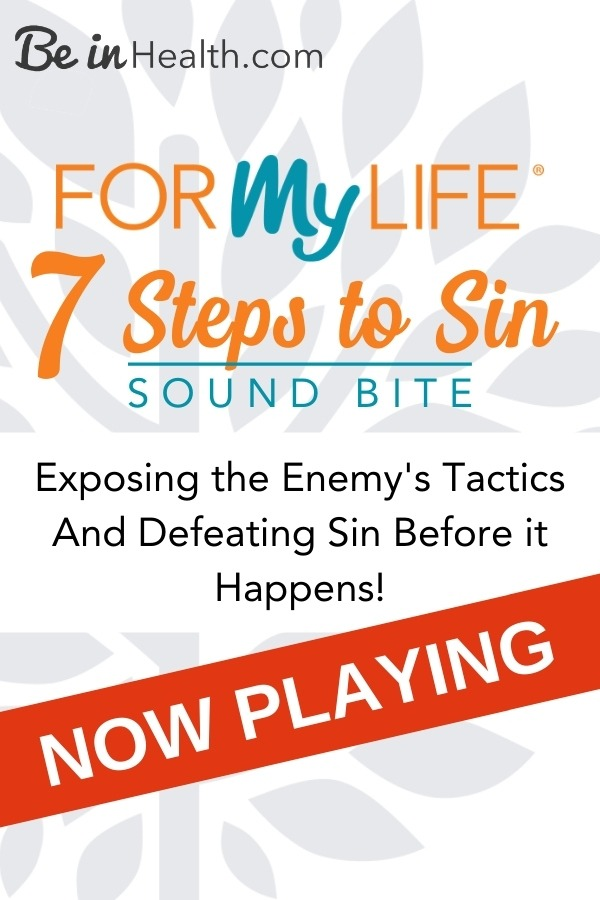 The 7 Steps to Sin teaching is the key to overcoming temptation and sin. This teaching exposes the pathway from temptation to sin.