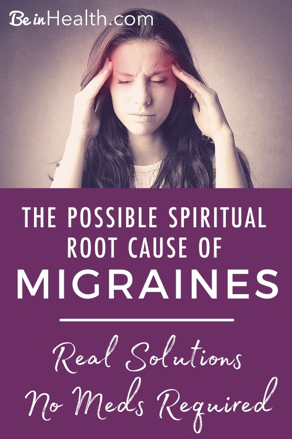 What causes migraines? Dr. Wright identifies the possible spiritual root of migraines. Find real solutions for your life today!