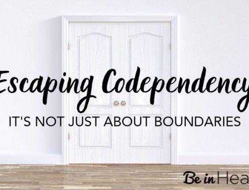 Escaping Codependency – It's Not Just About Boundaries