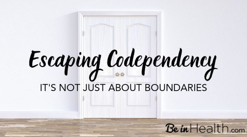 There is more to escaping codependency than just establishing boundaries. Learn how to ovecome codependency and victimization in your life God's way.
