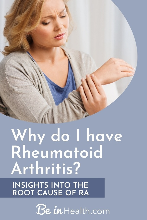 Most RA patients have this pattern of thought in common. Discover the spiritual root issues that may cause MS and discover God's truth that can help you heal from rheumatoid arthritis.