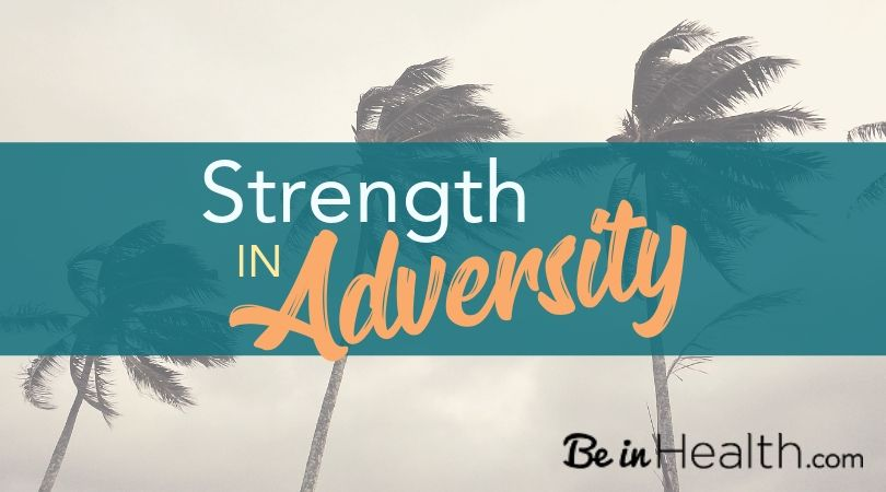 Adversity doe not need to take us out. When we allow God to meet us in it, He can help us to come out stronger than we were before.