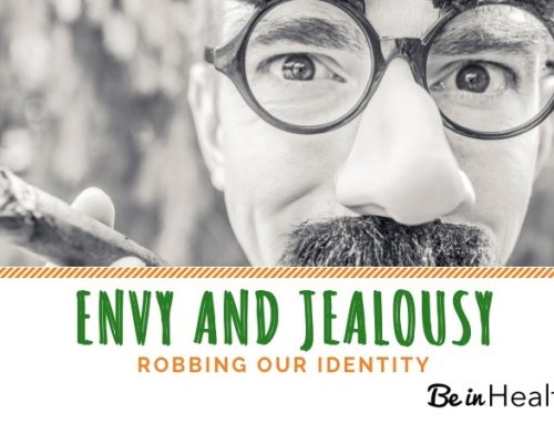 Spirit of Envy and Jealousy Robs Our Identity
