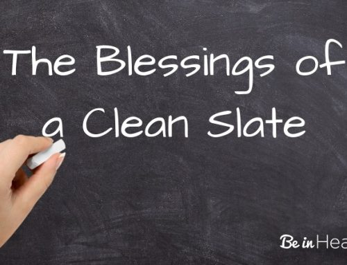 The Blessings of a Clean Slate