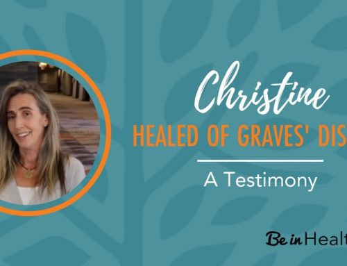 Christine – Healed from Graves' Disease