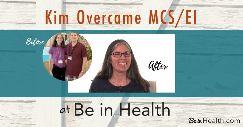 Before and after pictures of Kim who was healed of Multiple Chemical Sensitivity and more.