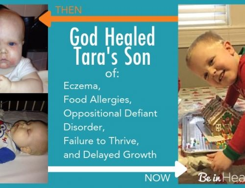 God Healed Her Son