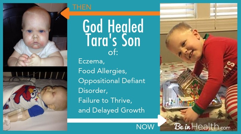 Tara's Testimony how God healed her son