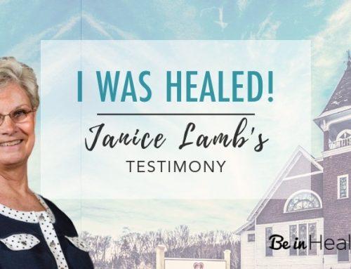 I Was Healed