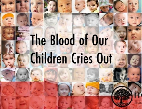 The Blood of Our Children Cries Out
