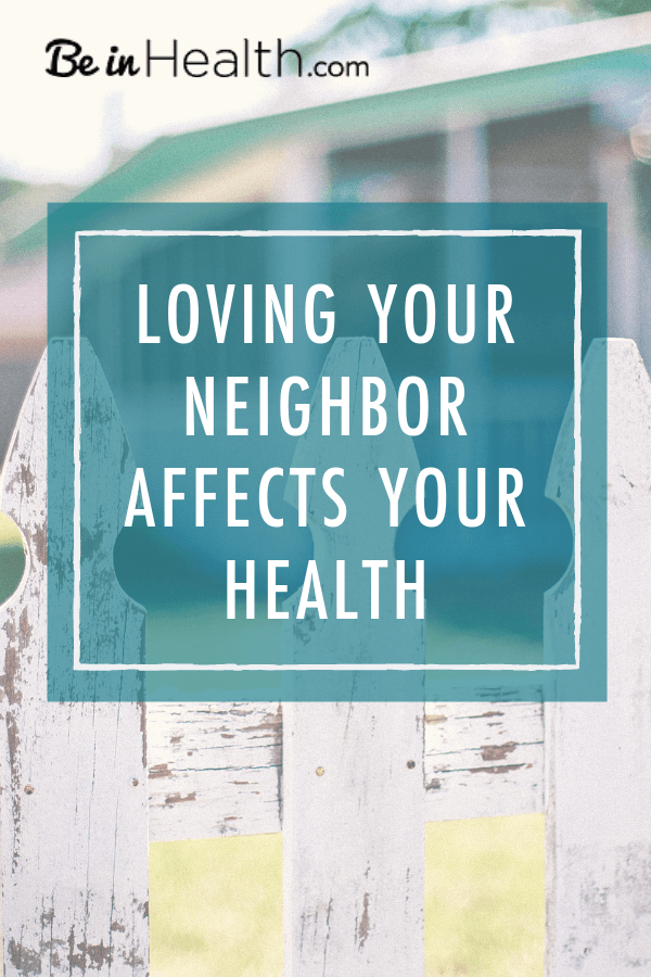 Find out how your relationships affect your health. Learn how to be restored to wholeness in God's love in your spirit, soul, and body.