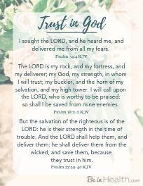 FREE Printable scripture download: 3 Scriptures for Trusting God
