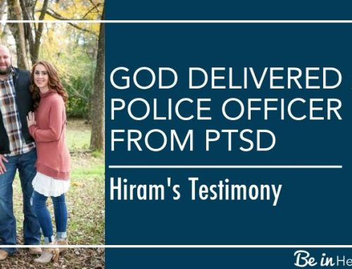God Delivered a Police Officer from PTSD