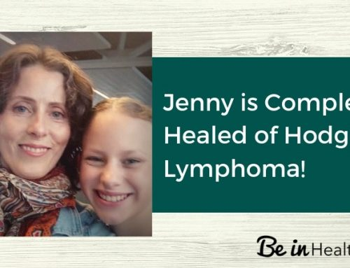 Jenny is Completely Cured of Hodgkin's Lymphoma