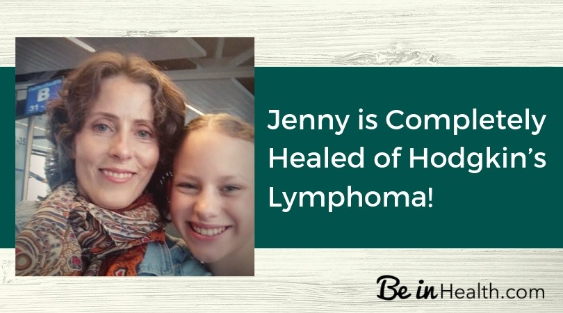 Jenny Was Completely Cured of Hodgkin's Lymphoma Through What She Learned at the For My Life Retreat.