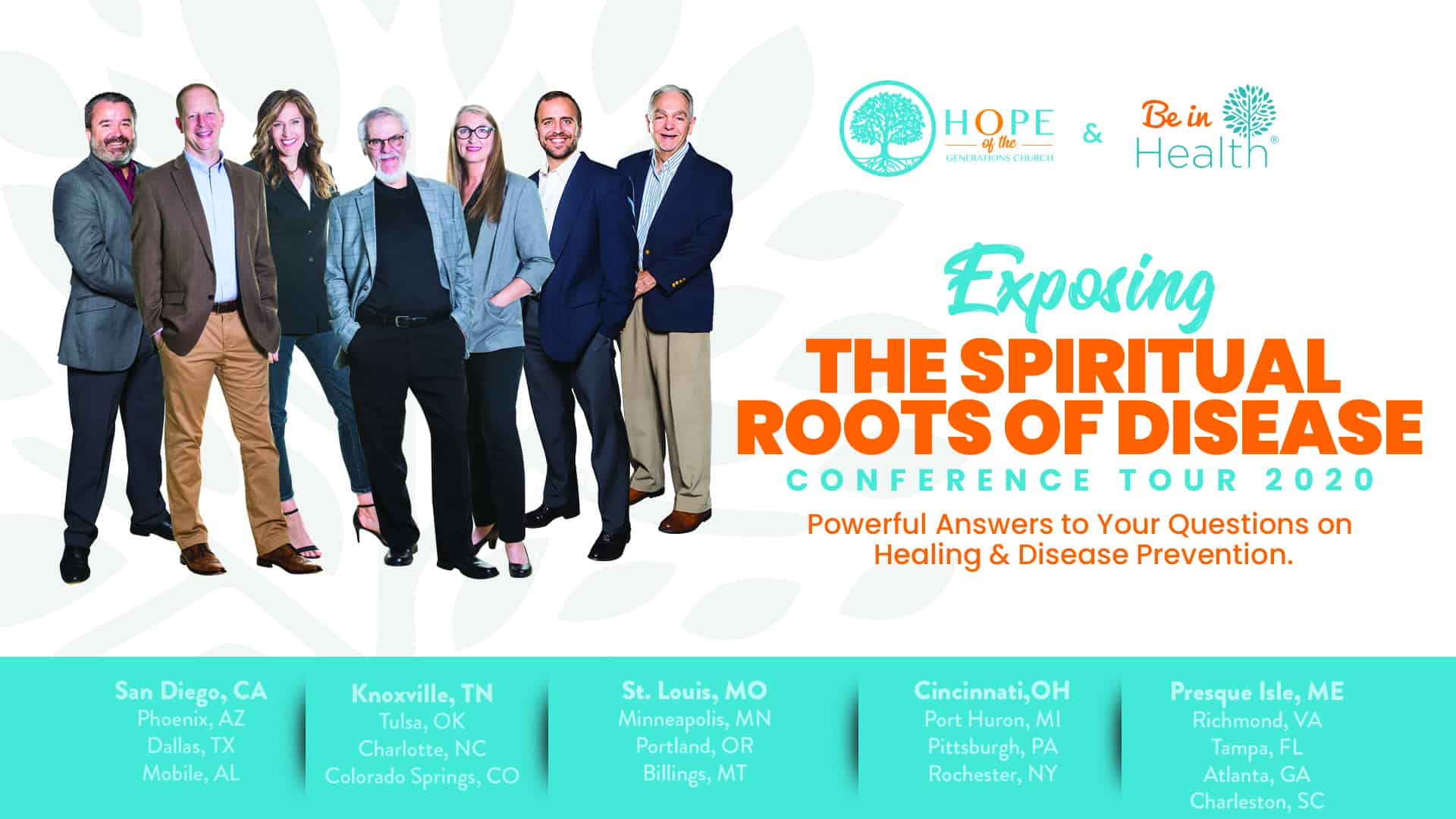Exposing Spiritual Roots of Disease Conference