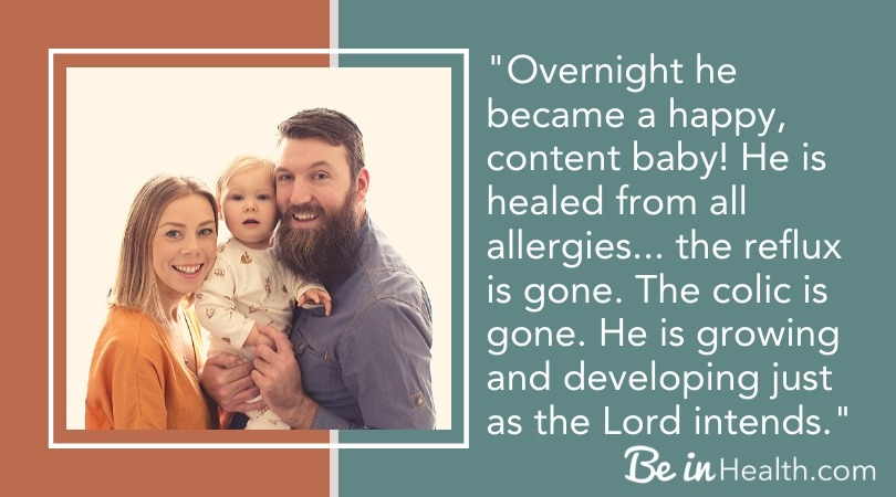 Jennifer shares her testimony about how she found the true, biblical, cure for colic and her son was completely healed