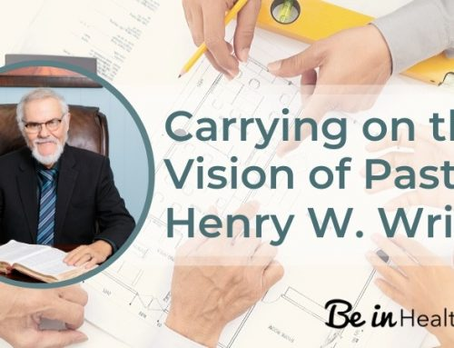 Carrying on the Vision of Pastor Henry W. Wright