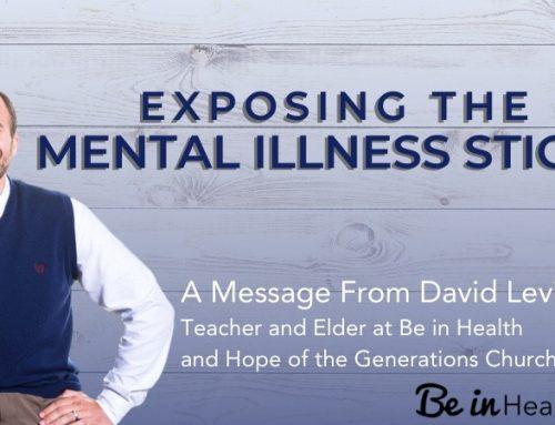 The Mental Illness Stigma