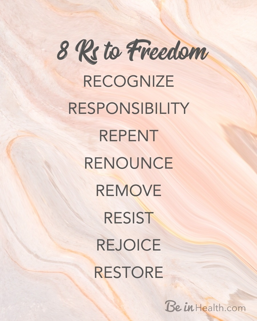 8 Rs to Freedom FREE Printable Poster