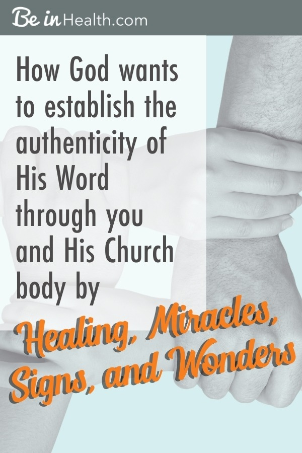 Find out how God is already working in the church through healings, miracles, signs, and wonders and how He wants to use you today!