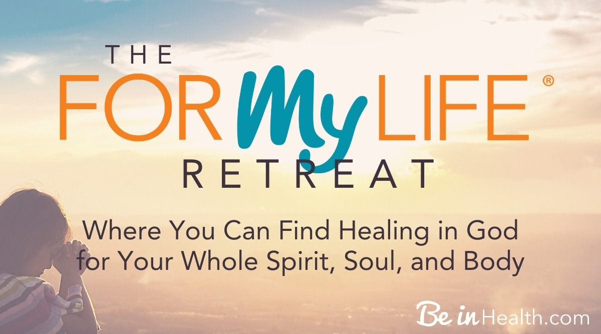 For My Life is an intensive healing retreat where you can find healing in God for your whole spirit, soul, and body