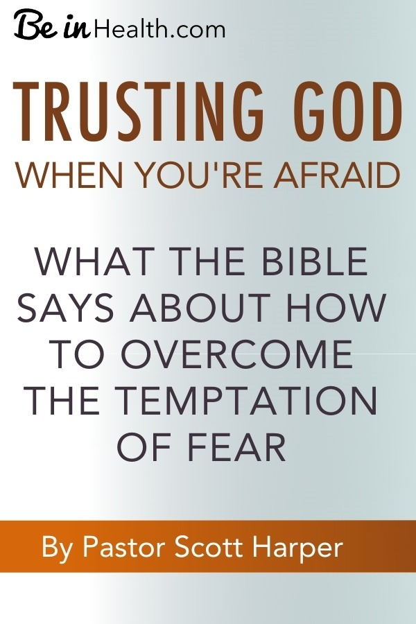In uncertain and fearful times what do we do? Pastor Scott Harper presents Biblical insights into overcoming fear and being restored to peace and safety in God.