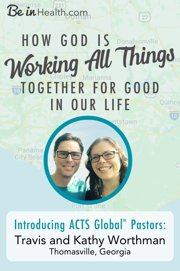 The Worthmans' journey through health problems, sickness, and brokenness to restoration and health. How God restored their life and prepared them for their calling