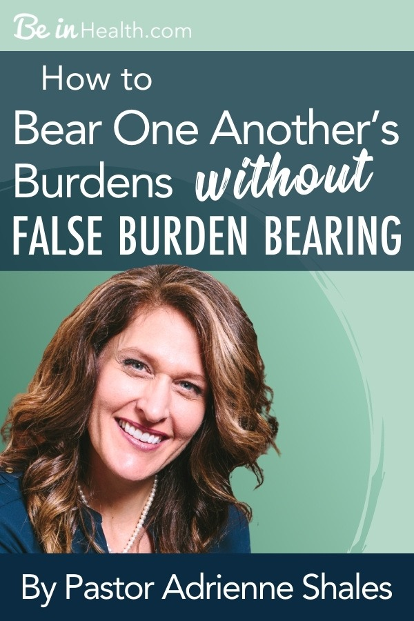 What does it mean to bear one another