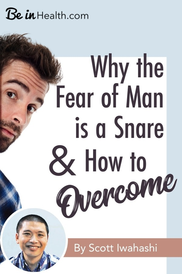 Is fear of people bringing you down? Would you like to overcome it and rise up in your love and relationship with God? Find out how here!