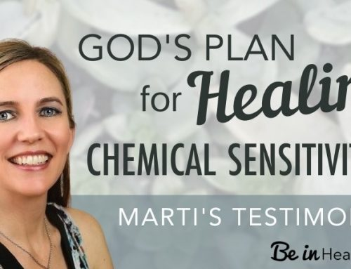 God's Plan for Healing Chemical Sensitivities