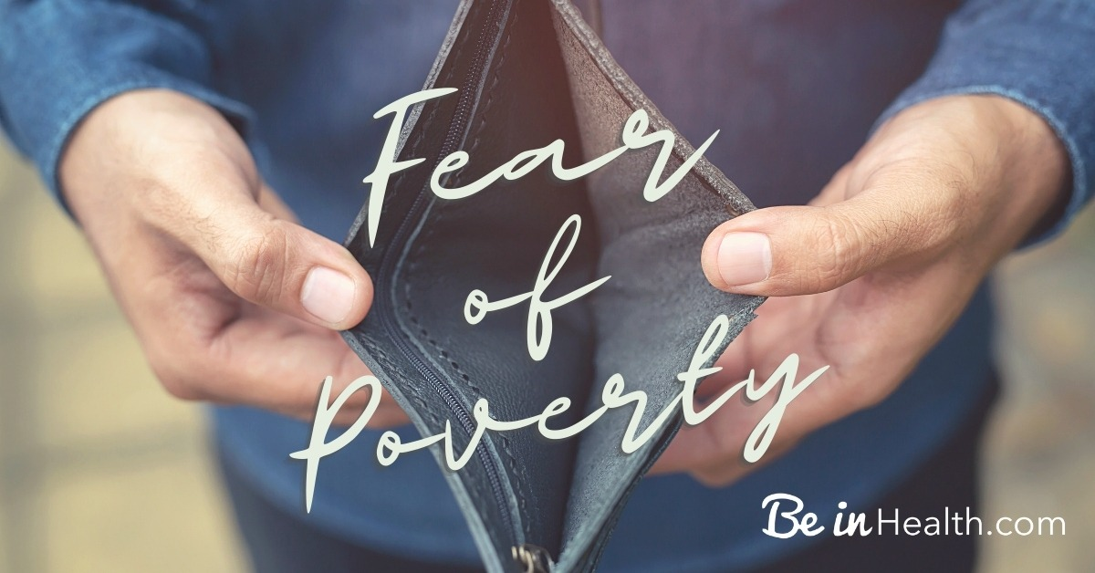 God wants to teach us how to overcome fear of poverty so that we can walk in peace and reliance on Him; no more stress or worrying.
