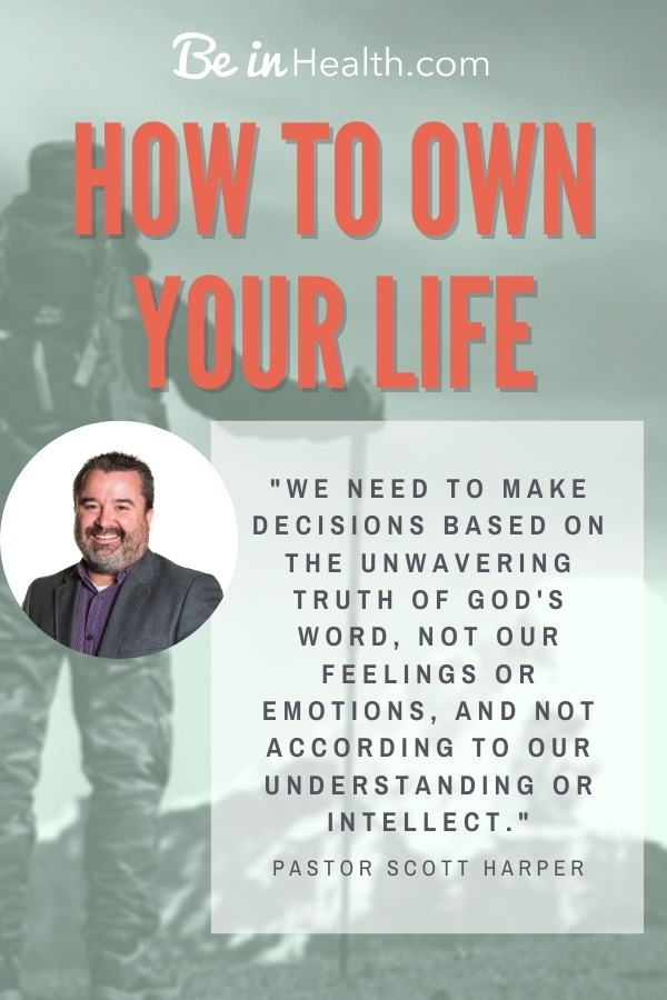 How to build your confidence in decision making and in your position in God's will. Learn how to own your life and thrive in God, not just survive.