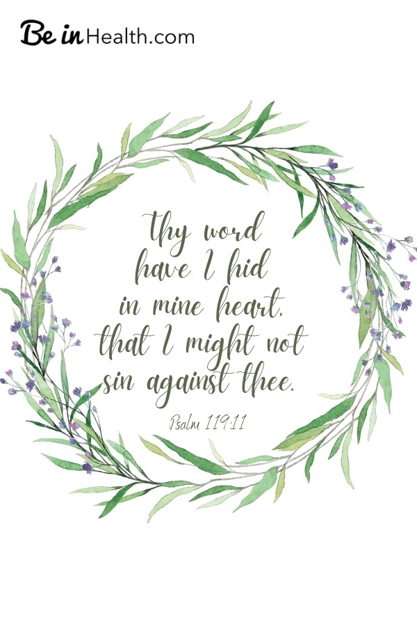 FREE Printable Scripture Art. Find out how God
