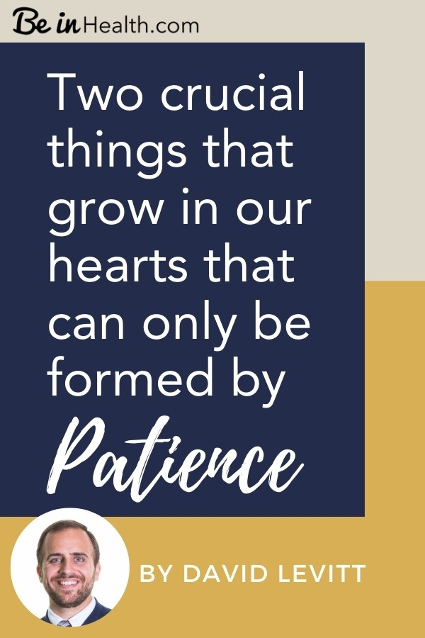 Learn how you can begin to develop patience in your life today with God