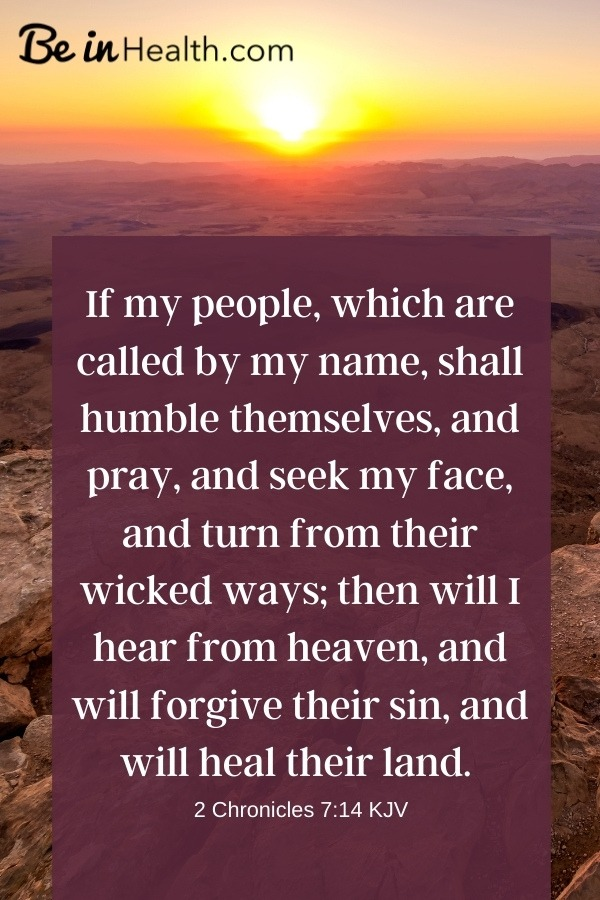 When there is pestilence on the land, or famine the likes, who holds the answers? God knows why and has the solutions to deliver us and heal our land, if we, His people, will humbly seek His face.