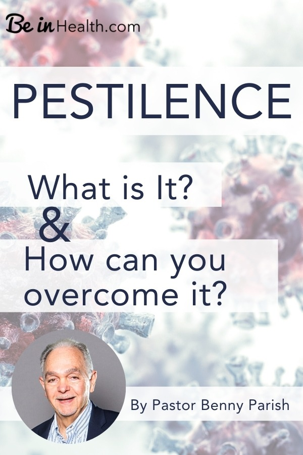 Pestilence is a very real problem in our world, today. What is it? Find Biblical answers to your questions and real solutions to remove the power of pestilence from your life.