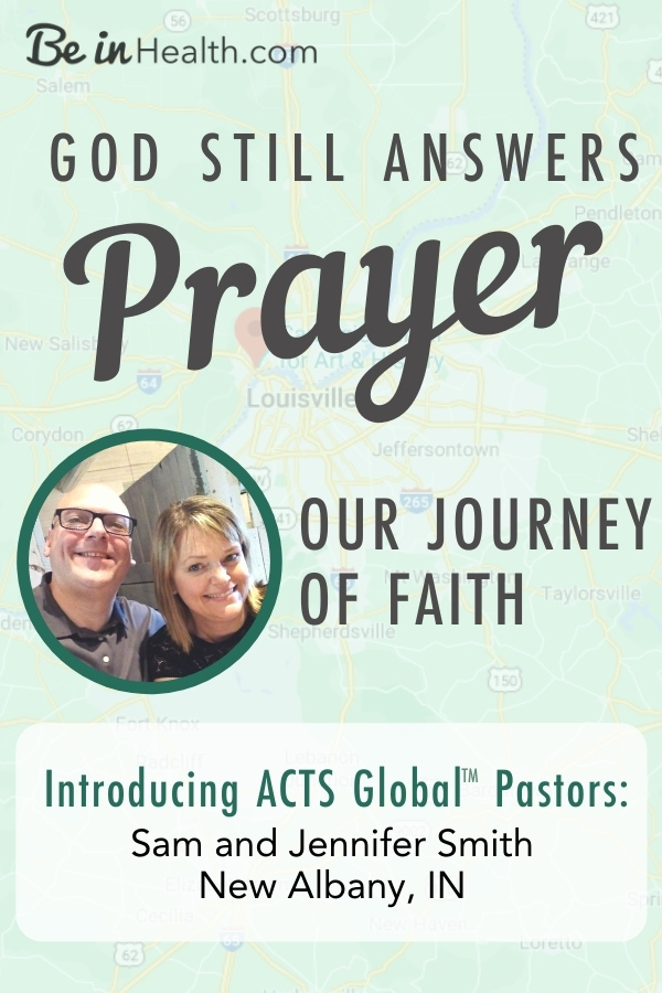 Building the ACTS Churches in confidence that God still answers prayer. The Smith's journey of faith that led them to becoming ACTS Pastors.
