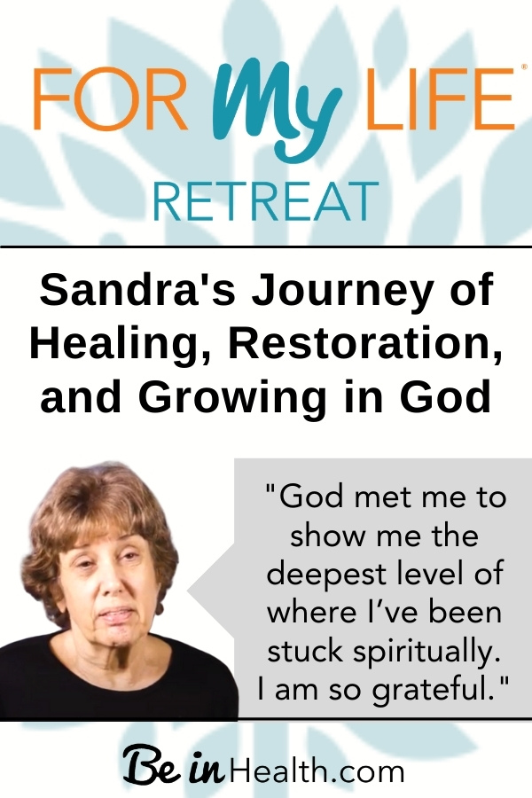 Growing in God is a journey of overcoming and faith. Read Sandra's testimony of healing and growing in God at the For My Life Retreat.