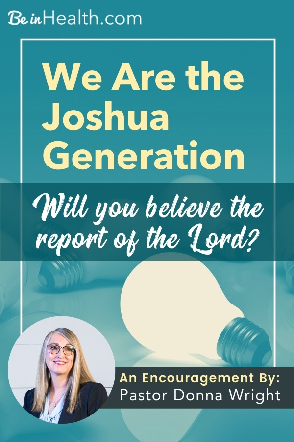 Today, God wants to see if we will believe the report of the Lord by faith. Learn how God can establish you in the faith of Joshua and help you overcome fear.
