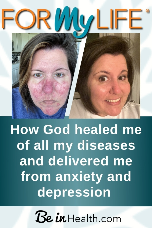 Find out how God healed me of all my diseases and disorders including autoimmune, anxiety, and depression. He wants to heal you too!
