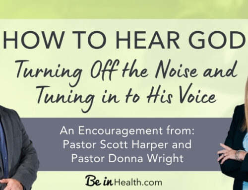 How to Hear God – Be Still and Wait