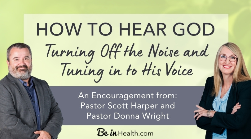 """It's easy to get so busy that we miss taking time out to hear God. Learn how to hear God by applying the scripture: """"Be still and know..."""""""