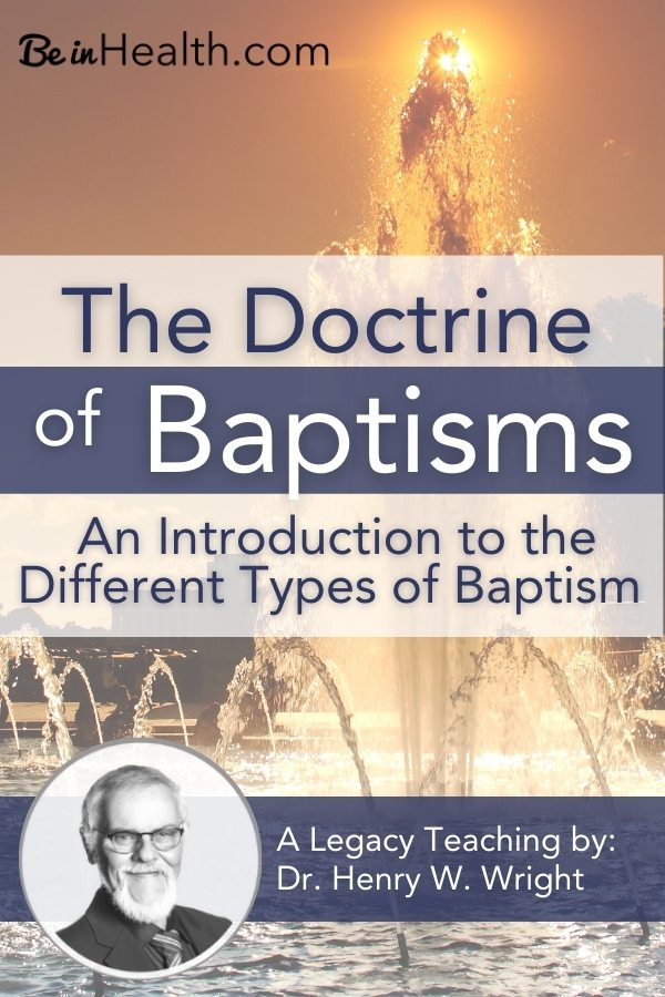 Discover eye-opening insights into how your participation with the four different types of baptism will draw you closer to God and help restore relationships with others. Read more here!
