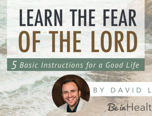 Learn the Fear of the Lord