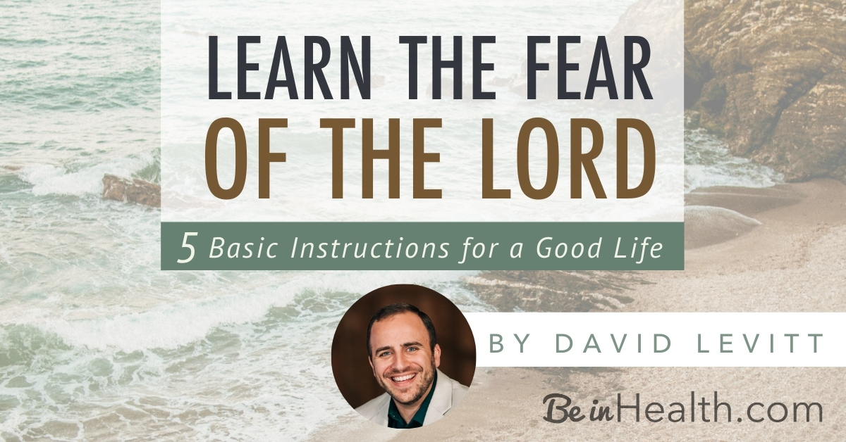 """What does """"The fear of the Lord"""" mean, and why is it essential for our lives? Discover eye-opening insights in this dynamic study of Psalm 34."""