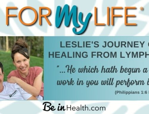 My Journey of Healing from Lymphoma