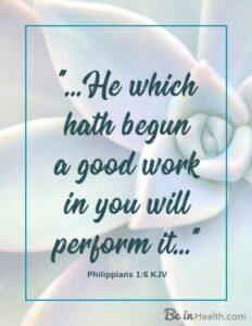 FREE Printable Scripture Art: Philippians 1:6