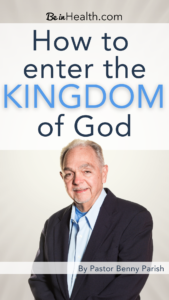 What is the Kingdom of God, and how do we walk in it? Jesus came to show His Kingdom to us; it's a spiritual position that we can learn to enter into.